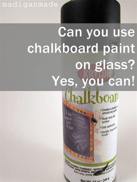 chalkboard paint can you paint can you use chalkboard paint on glass rosyscription