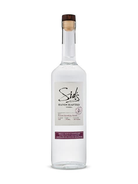 Handcrafted Vodka - sid s handcrafted vodka lcbo