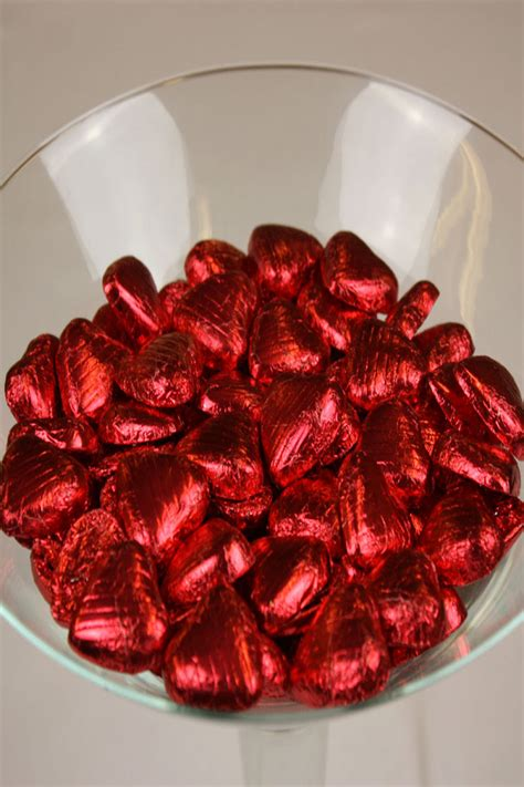 chocolate hearts foil chocolate hearts uk shopping mall