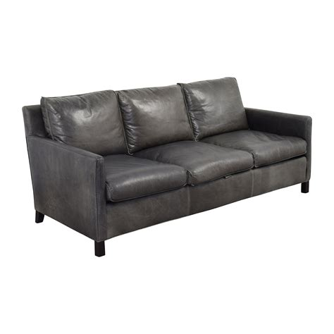 room and board leather sofa 62 off room board room board bram leather sofa sofas