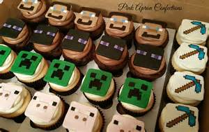 minecraft cupcakes for childrens