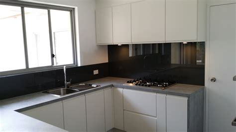 Blue Kitchens With White Cabinets by Glass Splashbacks Perth Kitchen Splashbacks Samples