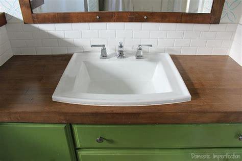 diy wood vanity countertop best ideas about what paint to use on bathroom vanity