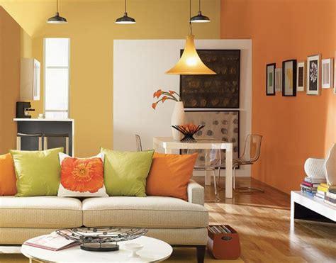 ideen wandfarbe wandfarbe ideen wohnzimmer farbige w 228 nde orange farben