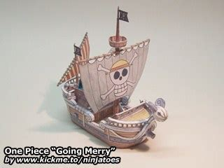 Papercraft Going Merry - one going merry ninjatoes papercraft webpage