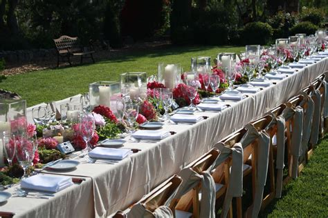 planning an outdoor wedding at home services ashker events