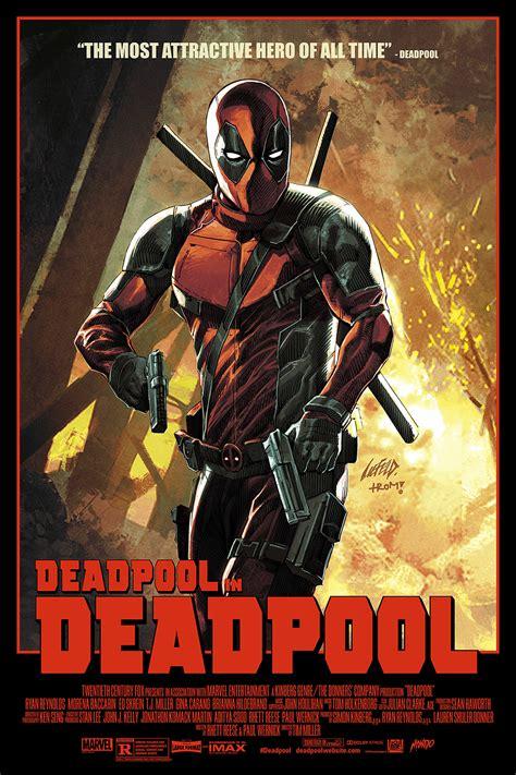 movie spoiler for the film deadpool inside the rock poster frame blog rob liefield deadpool