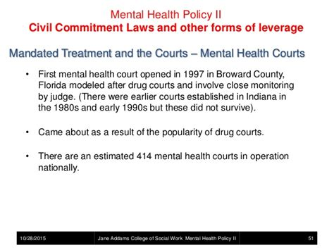 mental health court mental health policy mental illness and the criminal
