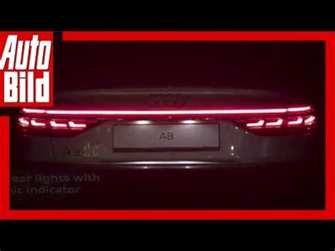 Audi A8 R Ckleuchten by Audi A8 D5 2017 Oled Backlights Show
