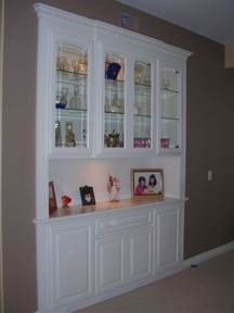 built in china cabinet custom made a built in china