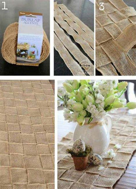 burlap home decor ideas 35 insanely beautiful burlap decor ideas for cozy