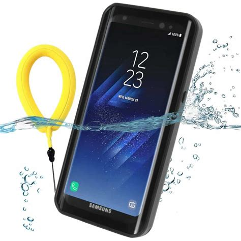Water Proof waterproof galaxy s8 plus black gorilla cases galaxy s8