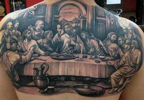40 last supper designs for christian ink ideas
