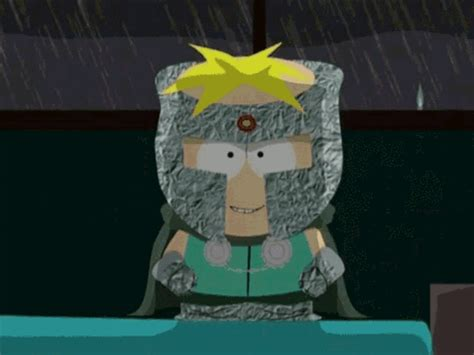 south park butters gif find amp share on giphy