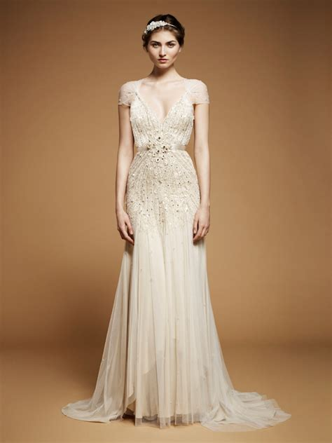 beading on the wedding dress to the right reminds me of indian the irresistible exquisiteness of beaded wedding dresses