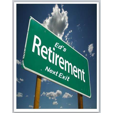 5 Best Images Of Retirement Signs Printable Road To Retirement Party Ideas Funny Retirement Retirement Flyer Template Powerpoint