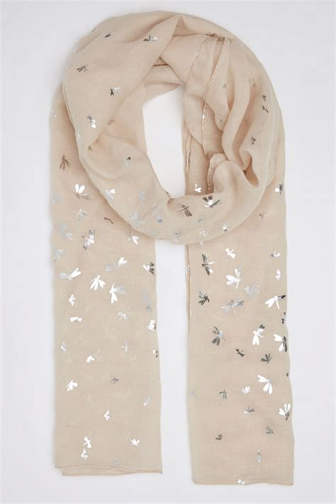 Does A Temporary Restraining Order Show Up On A Background Check Beige Foil Print Dragonfly Scarf