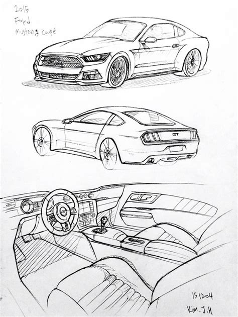 Car Drawing 17 best ideas about car drawings on pinterest car