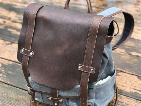 strapping together multiple pads pad and quill s leather backpack is a tech bag at home in