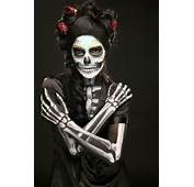 Crafty Lady Abby BEAUTY Dia De Los Muertos Skull Makeup
