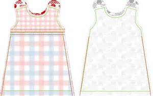 Free sewing tutorial and pattern dutch baby dress 6 different sizes