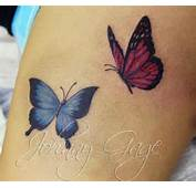 Butterflies On Thigh Tattoo600 539