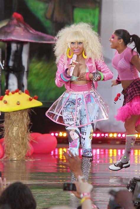 Minaj Wardrobe by Nicki Minaj In Nicki Minaj Performs In Central Park Zimbio
