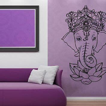 Tokomonster Lotus Flower 6 Wall Decal Sticker Size 23 shop lotus flower wall decal on wanelo