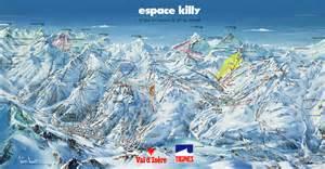 Tignes val claret piste map tignes val claret ski area map igluski