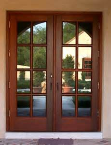 Photos of Wooden Double Glazed French Doors Exterior