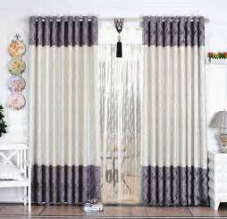 Curtain design minimalist style bedroom curtains for china mainland