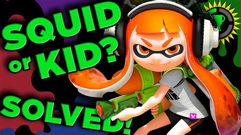 Gamis Squkin theory are you a kid or squid splatoon solved