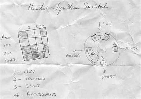 image lucas ignition switch wiring diagram