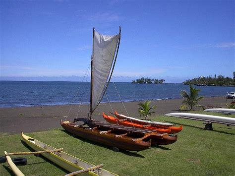 hawaiian boat hawaiian canoe building alum