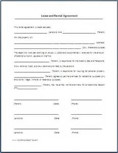 Here is preview of this lease agreement template created using