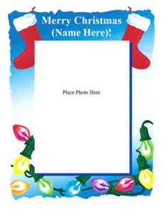 Pics photos word christmas letter templates paper stationery