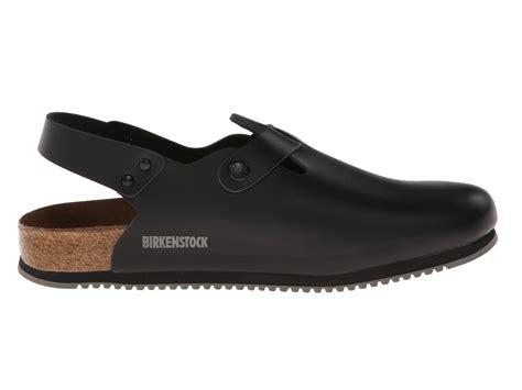 Birkenstock Non Slip Kitchen Shoes by Birkenstock Tokyo Grip Black Leather Zappos