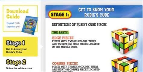 websites  learn   solve rubiks cube