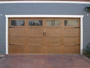 Craftsman style garage doors for pinterest
