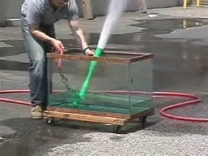 Venturi water pump