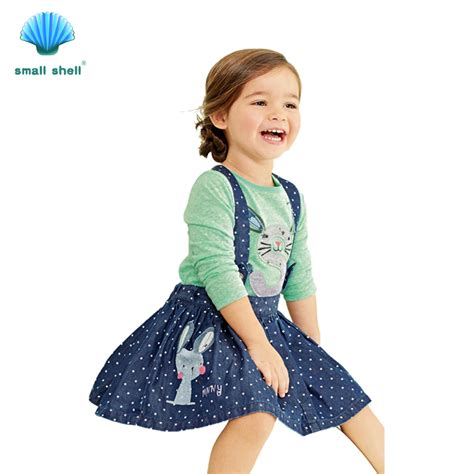 C788 Kid Cotton Fashion Set small shell 2017 new style summer baby clothes sets cotton suit clothing set rabbit