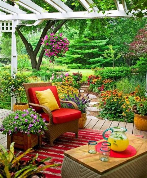 Summer Backyard Ideas Summer Outdoor Decorating Ideas Home Design And Decor Reviews