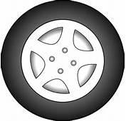 Wheel Chrome Rims Clip Art At Clkercom  Vector Online