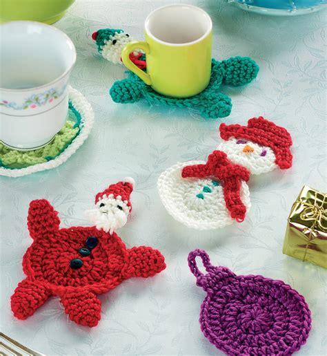 best freecrochets christmas crochet coasters crochet pattern