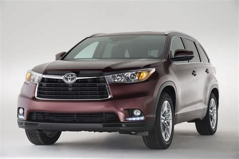 all toyota all new 2014 toyota highlander crossover details and pictures