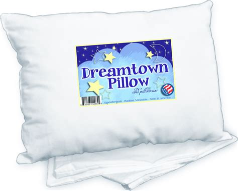 Chiropractor Recommended Pillows toddler pillow with pillowcase by dreamtown