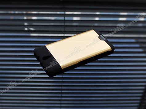 Motomo Xperia C5 motomo sony xperia c5 ultra metal gold rubber k箟l箟f