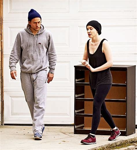 charlie hunnam and girlfriend morgana mcnelis move a