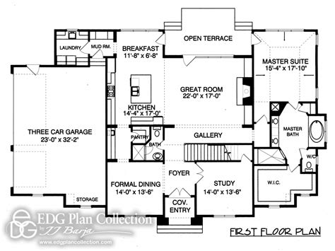 french cottage floor plans provincial french country house plan french country