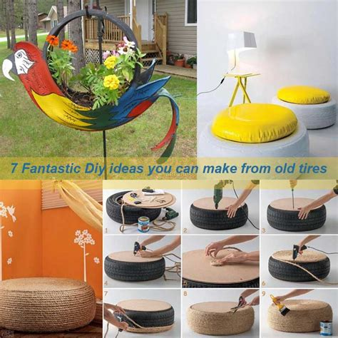 decorations you can make 7 fantastic diy ideas you can make from tires my